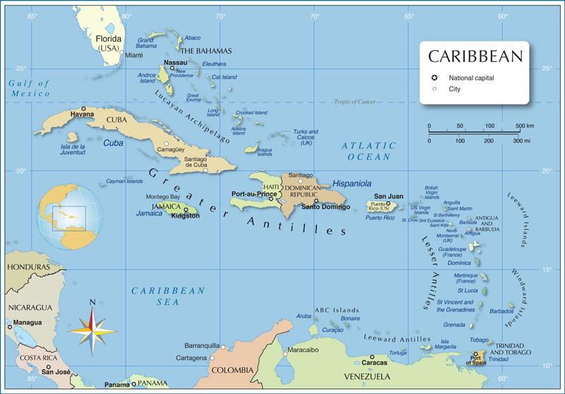 Карибски регион